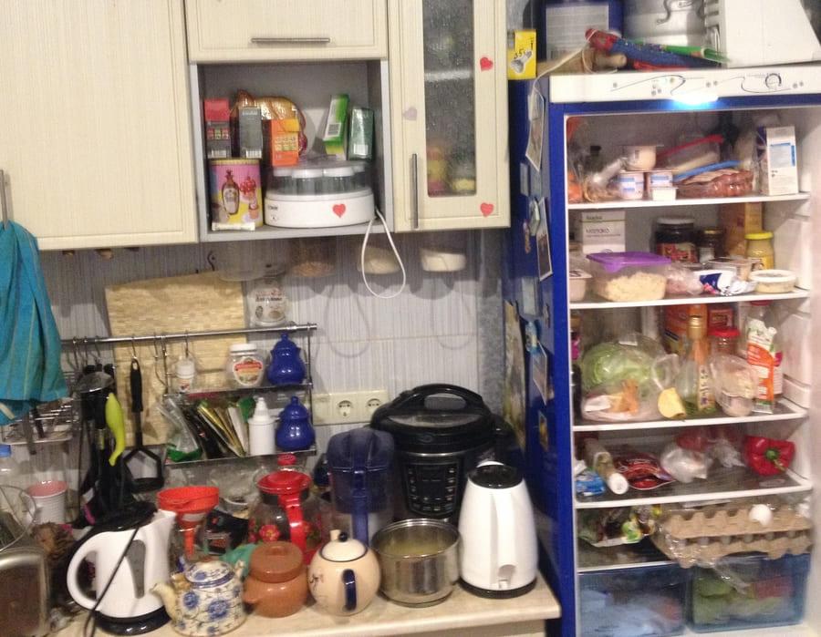 Уборка кухни в квартире