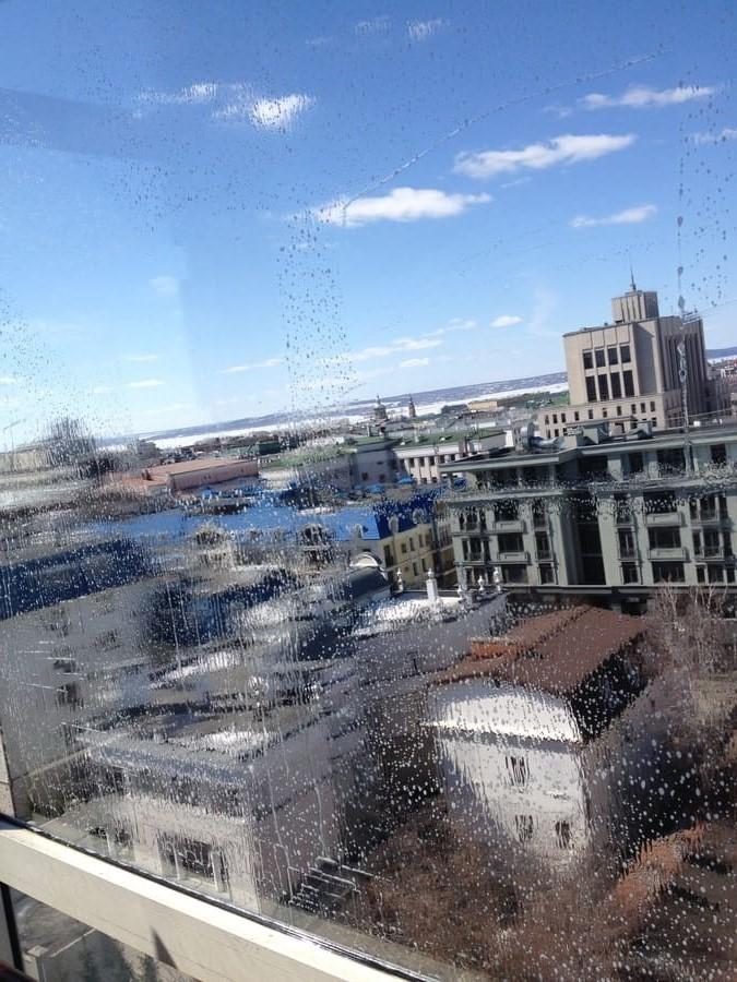 Мойка окон на балконе и ген. уборка кухни