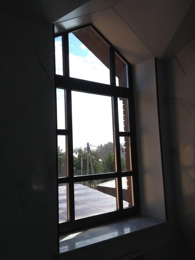 Мойка окон в доме в п. Раифа