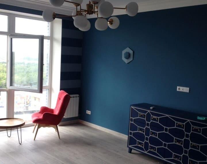 Уборка квартиры после ремонта — 130 м2