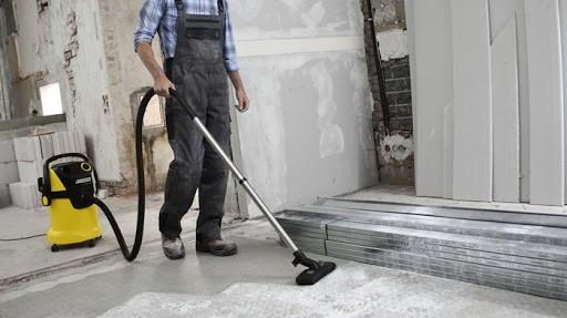 Уборка дома после строительства и ремонта